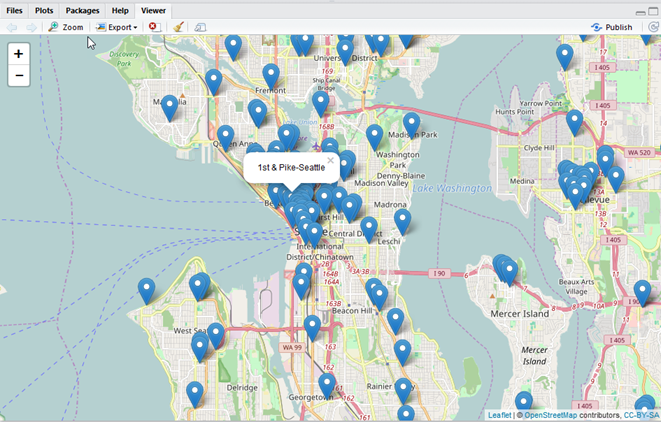Mapping data with TERR and leaflet